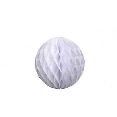 Palla a nido d'ape Honeycomb bianco 20cm