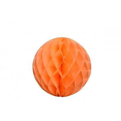 Palla a nido d'ape Honeycomb arancio 30cm