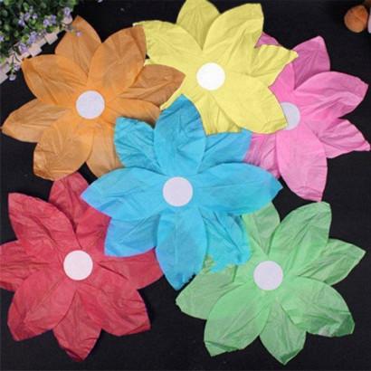 10 Lanterne galleggianti - a fiore - mix color (1,00 € / pz)