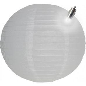 Lanterna di carta LED 30cm bianco