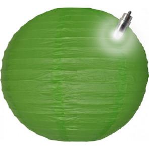 Lanterna di carta LED 30cm verde