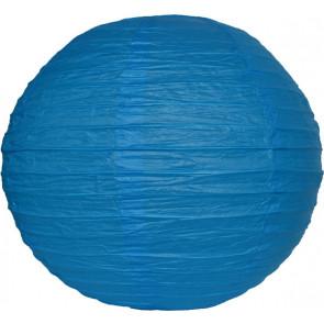 Lanterna di carta 30cm blu