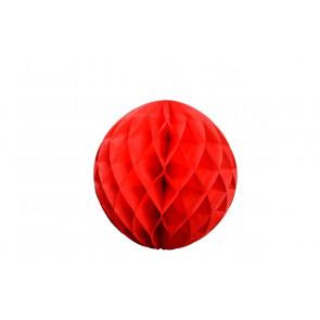 Palla a nido d'ape Honeycomb rosso 20cm