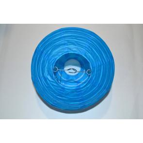 Lanterna di carta 40cm blu