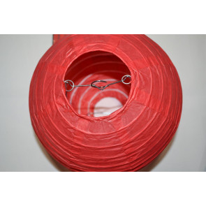 Lanterna di carta 50cm rosso