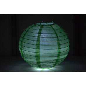 Lanterna di carta LED 50cm verde