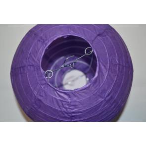 Lanterna di carta 20cm viola
