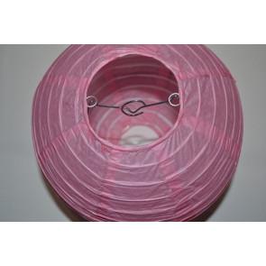 Lanterna di carta 40cm rosa
