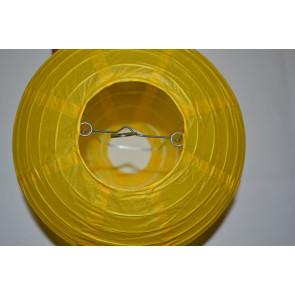 Lanterna di carta 40cm giallo