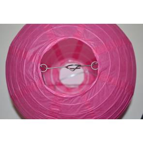 Lanterna di carta 30cm fuchsia