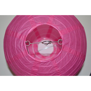 Lanterna di carta 20cm fuchsia