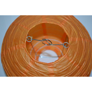 Lanterna di carta 20cm arancione