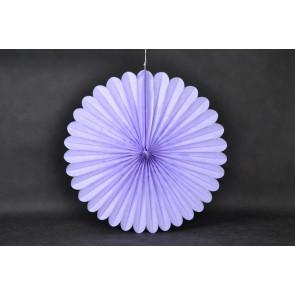 Ventaglio decorativo di carta 40cm viola