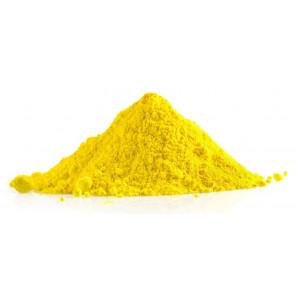 Polvere colorata holi giallo