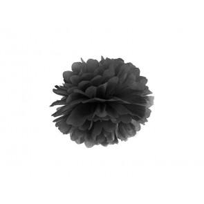 Pon pon di carta 35cm, nero