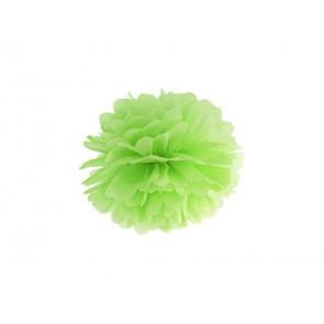 Pon pon di carta 35cm, verde chiaro