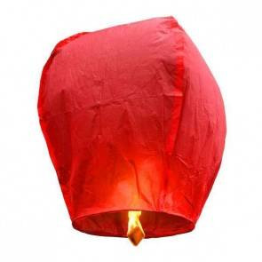 Lanterna Volante Rossa